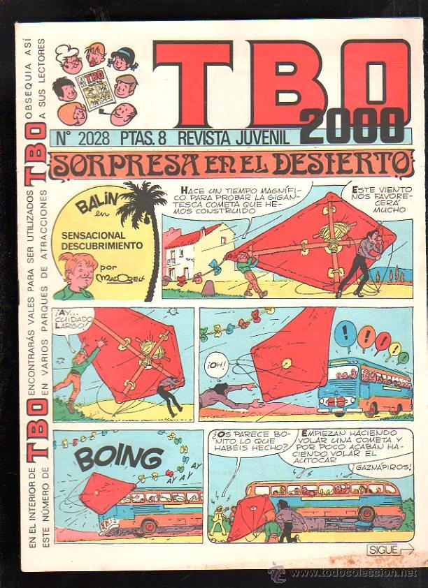 REVISTA JUVENIL. TBO 2000. Nº 2028. (Tebeos y Comics - Buigas - TBO)