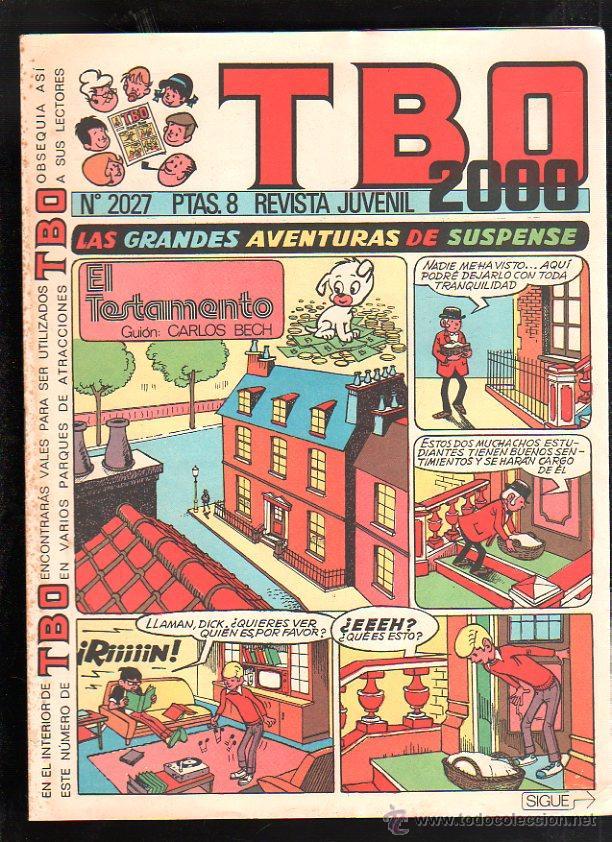REVISTA JUVENIL. TBO 2000. Nº 2027. (Tebeos y Comics - Buigas - TBO)