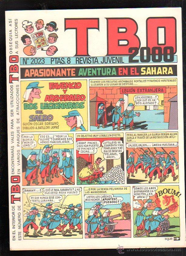 REVISTA JUVENIL. TBO 2000. Nº 2023. (Tebeos y Comics - Buigas - TBO)