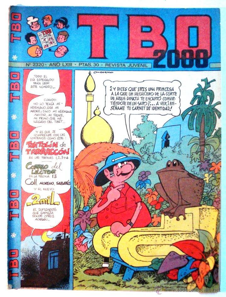 TBO 2000 - REVISTA JUVENIL - Nº2320 (Tebeos y Comics - Buigas - TBO)