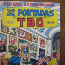Tebeos: NÚMERO EXTRAORDINARIO. 32 PORTADAS DE LAS MÁS REPRESENTATIVAS DE TBO. 1917. 1983.. Lote 49169162