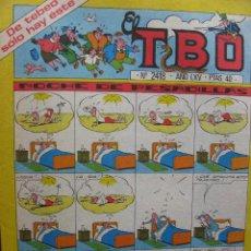 Tebeos: EL TBO. Nº 2418. 9 ENERO 1981.. Lote 49172757