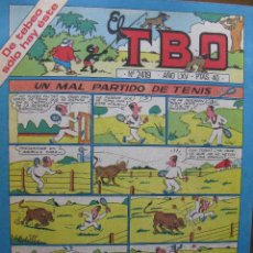 Tebeos: EL TBO. Nº 2419. 16 ENERO 1981.. Lote 49172790