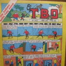 Tebeos: EL TBO. Nº 2422. 6 FEBRERO 1981.. Lote 49172844
