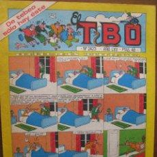 Tebeos: EL TBO. Nº 2423. 13 FEBRERO 1981.. Lote 49172890