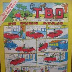 Tebeos: EL TBO. Nº 2424. 20 FEBRERO 1981.. Lote 49172929
