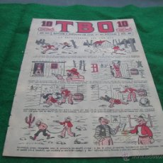 BDs: TBO T B O TEBEO BUIGAS LA PRIMERA 1917 NUMERO 840 LOTE TB0. Lote 54291390