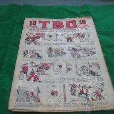 Tebeos: NUMERO 807 TBO T B O TEBEO BUIGAS LA PRIMERA 1917 LOTE TBO. Lote 49976060