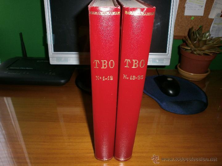 LOTE 2 TOMOS TBO ENCUADERNADOS - Nº 1 A 25 - EDICIONES B GRUPO Z - 1988 Y 1989. (Tebeos y Comics - Buigas - TBO)