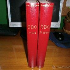 Tebeos: LOTE 2 TOMOS TBO ENCUADERNADOS - Nº 1 A 25 - EDICIONES B GRUPO Z - 1988 Y 1989.. Lote 50341473