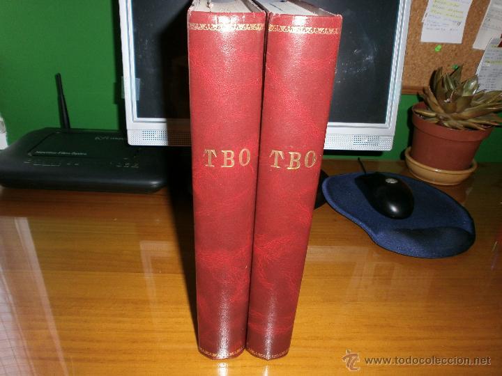 LOTE 2 TOMOS TBO ENCUADERNADOS - SEGUNDA EPOCA Y EDICIONES B GRUPO Z 1988. (Tebeos y Comics - Buigas - TBO)