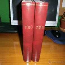 Tebeos: LOTE 2 TOMOS TBO ENCUADERNADOS - SEGUNDA EPOCA Y EDICIONES B GRUPO Z 1988.. Lote 50341560