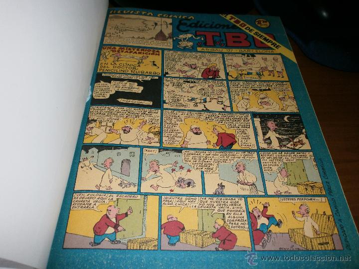 Tebeos: LOTE 2 TOMOS TBO ENCUADERNADOS - SEGUNDA EPOCA Y EDICIONES B GRUPO Z 1988. - Foto 3 - 50341560