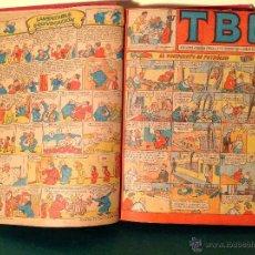 Tebeos: CÓMICS TBO 2º – ÉPOCA TODA LA COLECCIÓN 3 LIBROS ORIGINAL AÑO 1942. Lote 50487965