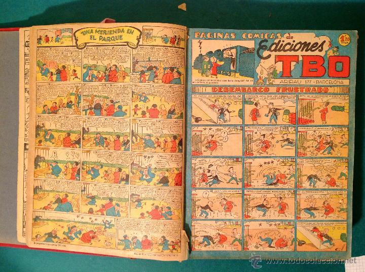 Tebeos: Cómics TBO 2º – Época Toda La Colección 3 libros Original Año 1942 - Foto 5 - 50487965