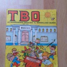Tebeos: TBO EXTRA EL MARAVILLOSO MUNDO DE LOS MUSEOS _ AÑO 1969. Lote 50960983