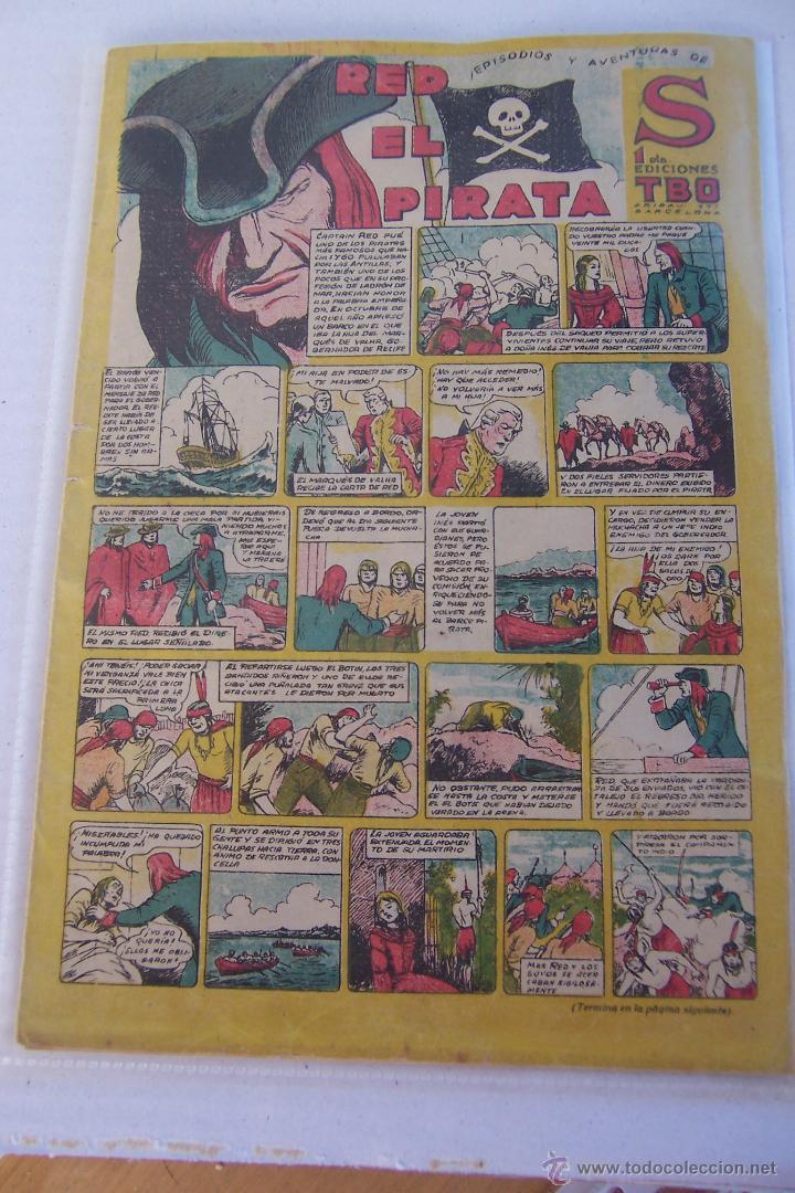 BUIGAS.- NARRACIONES Y AVENTURAS DE S EDICIONES TBO Nº RED EL PIRATA (Tebeos y Comics - Buigas - Otros)