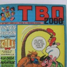 Tebeos: COM-180. TBO. 2000. EDICION ENCUADERNADA NUMEROS 2187 A 2207 AÑO 1976.. Lote 51477702