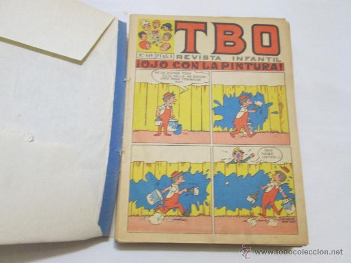 TBO (1 TOMO CON 37 TEBEOS Y 4 EXTRAORDINARIOS/ALMANAQUES) - BUIGAS - 1970 (Tebeos y Comics - Buigas - TBO)