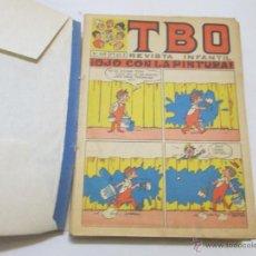 Tebeos: TBO (1 TOMO CON 37 TEBEOS Y 4 EXTRAORDINARIOS/ALMANAQUES) - BUIGAS - 1970. Lote 52012073