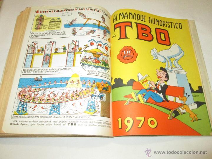 Tebeos: TBO (1 TOMO CON 37 TEBEOS Y 4 EXTRAORDINARIOS/ALMANAQUES) - BUIGAS - 1970 - Foto 6 - 52012073