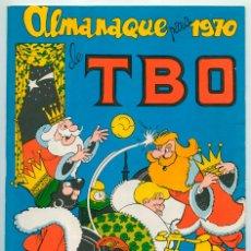 Tebeos: TBO - ALMANAQUE PARA 1970 - BUIGAS - 1969. Lote 52154867
