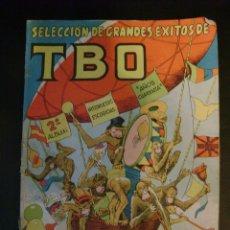 Tebeos: SELECCION DE GRANDES EXITOS DE TBO 2º ALBUM HISTORIETAS ESCOGIDAS AÑOS CUARENTA. Lote 52650635