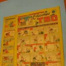 Tebeos: 2 TEBEOS, DE HISTORIETAS COMICAS, DE EDICIONES T.B.O. SIN NUMERO. Lote 52843164