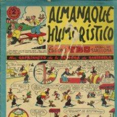 Tebeos: ALMANAQUE HUMORÍSTICO TBO PARA 1955. Lote 52886363