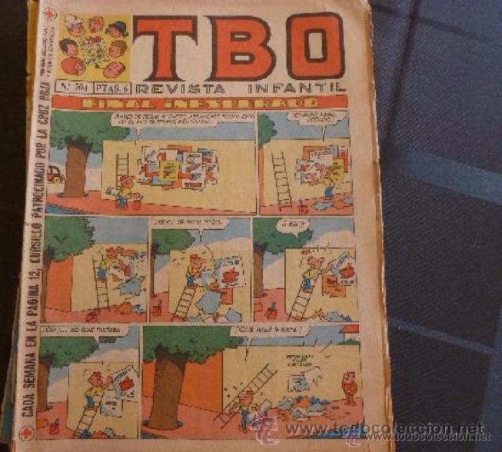 COMIC-TBO N 704 (Tebeos y Comics - Buigas - TBO)