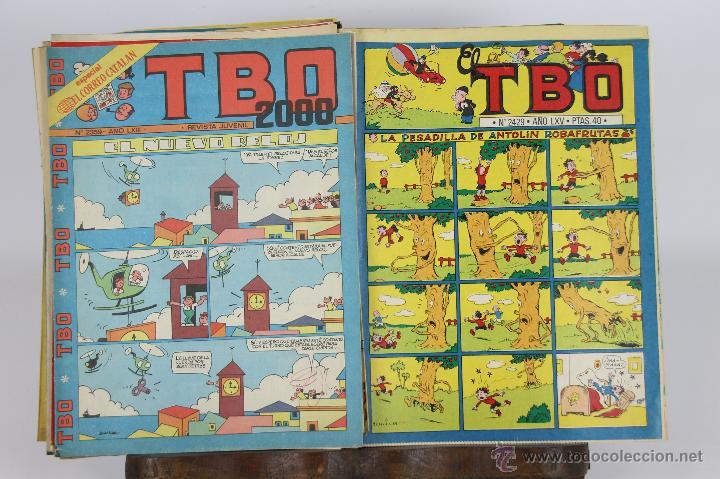 5739 - COMIC TBO. EDIC. BUIGAS/BRUGUERA. AÑOS 60/80. 61 EJEMPLARES. (Tebeos y Comics - Buigas - TBO)