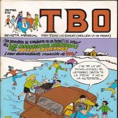 Tebeos: REVISTA Nº 25 TBO EDICIONES B. Lote 54907254