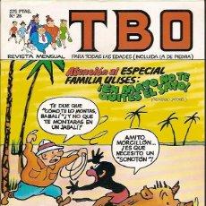 Tebeos: REVISTA Nº 28 TBO EDICIONES B. Lote 54907292