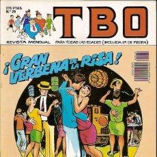 Tebeos: REVISTA Nº 29 TBO EDICIONES B. Lote 54907313