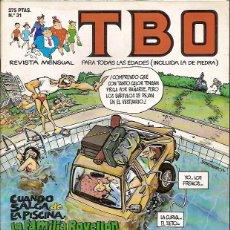 Tebeos: REVISTA Nº 31 TBO EDICIONES B. Lote 54907348