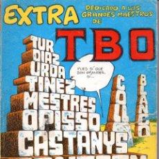 Tebeos: EXTRA TBO Nº 12 DEDICADO A LOS GRANDES MAESTROS, ALMANAQUE HUMORÍSTICO 1979 Y OTROS. Lote 54951901
