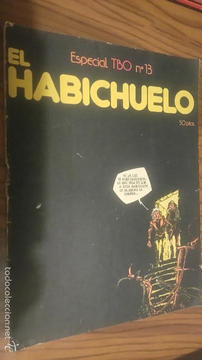 EL HABICHUELO. ESPECIAL TBO 13. LOMO ALGO ROTO, POR LO DEMÁS, BUEN ESTADO (Tebeos y Comics - Buigas - Otros)