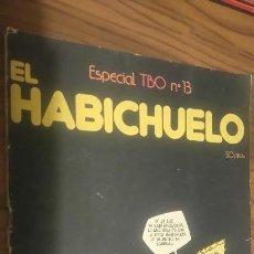 Tebeos: EL HABICHUELO. ESPECIAL TBO 13. LOMO ALGO ROTO, POR LO DEMÁS, BUEN ESTADO. Lote 193903207