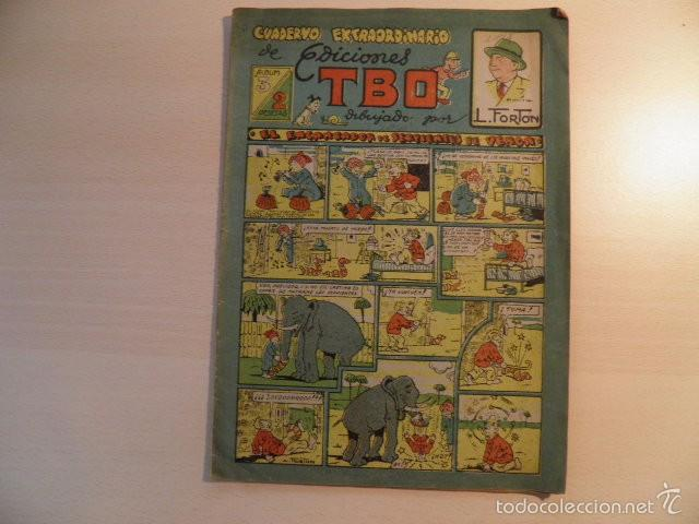 ALBUM EXTRAORDINARIO DEL TBO. (Tebeos y Comics - Buigas - TBO)