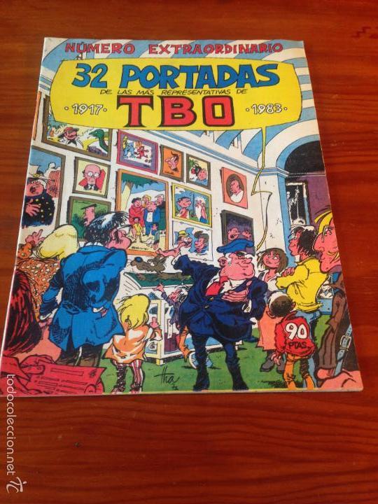 TBO 2000 EXTRA 32 PORTADAS REPRESENTATIVAS DE TBO Nº 137 ULTIMO. BUIGAS, ESTIVILL Y VIÑA 1983 (Tebeos y Comics - Buigas - TBO)