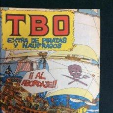 Giornalini: TBO EXTRA DE PIRATAS Y NAUFRAGOS. Lote 56562919