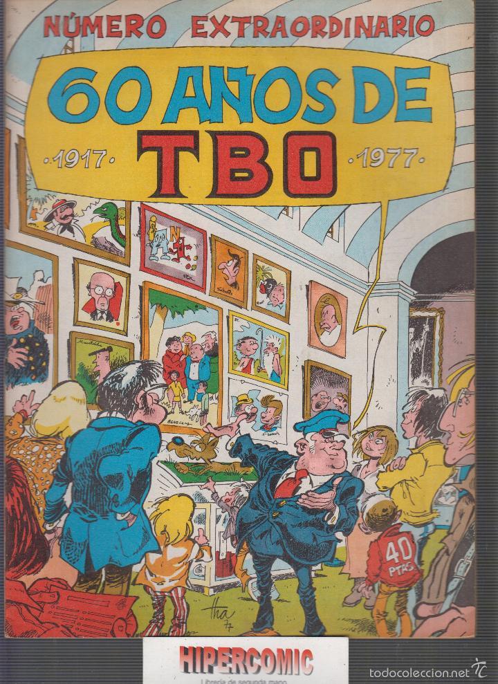 NUMERO EXTRAORDINARIO 60 AÑOS DE TBO, 1917 - 1977 (Tebeos y Comics - Buigas - TBO)