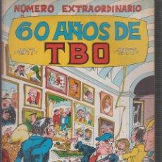 Tebeos: NUMERO EXTRAORDINARIO 60 AÑOS DE TBO, 1917 - 1977. Lote 70136102