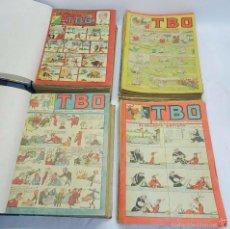 Tebeos: ESPECTACULAR LOTE DE TBO, UNOS 230 EN TOTAL APROX, 2 TOMOS ENCUADERNADOS CON LOS ALMANAQUES 1953, 19. Lote 56713691