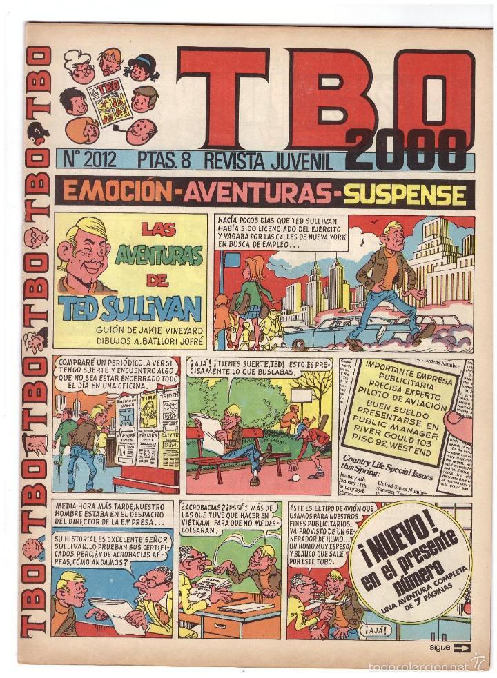 TBO Nº 2012. (Tebeos y Comics - Buigas - Otros)