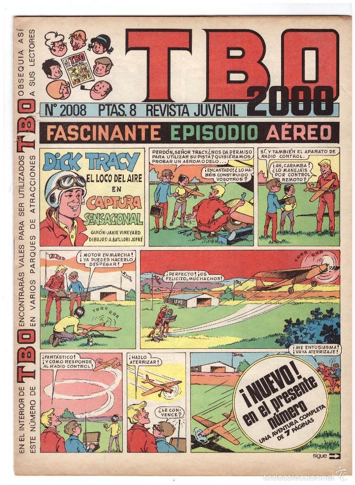TBO Nº 2008. (Tebeos y Comics - Buigas - Otros)