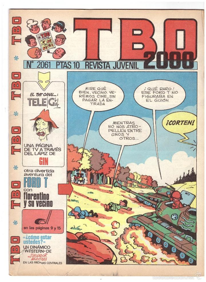TBO Nº 2061. (Tebeos y Comics - Buigas - Otros)