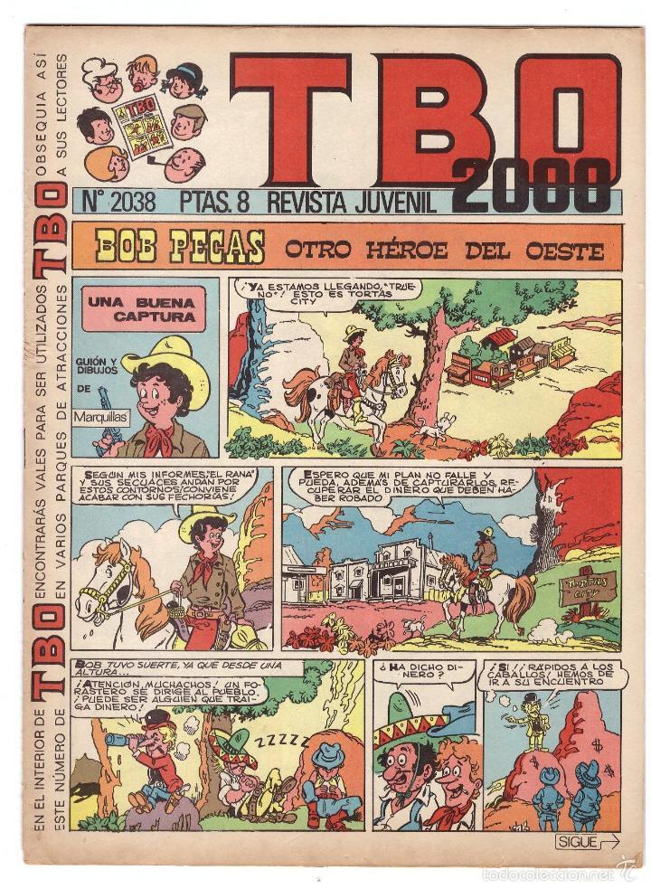 TBO Nº 2038. (Tebeos y Comics - Buigas - Otros)