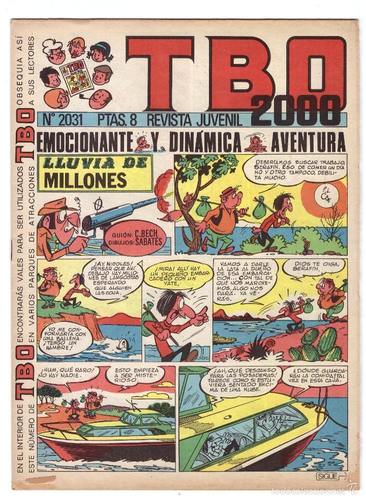 TBO Nº 2031. (Tebeos y Comics - Buigas - Otros)
