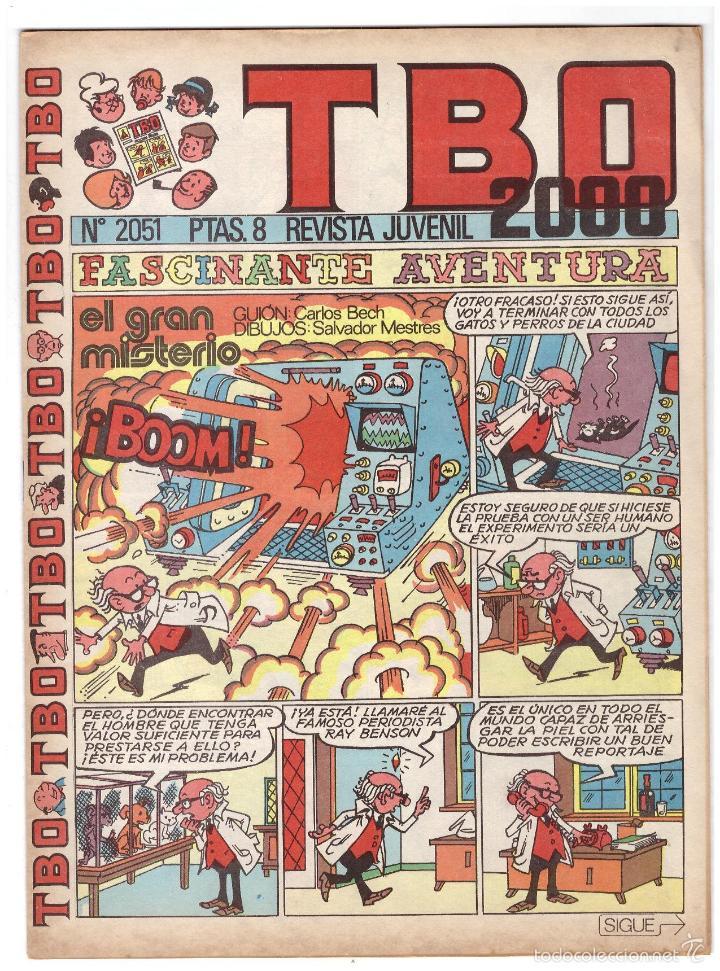 TBO Nº 2051. (Tebeos y Comics - Buigas - Otros)